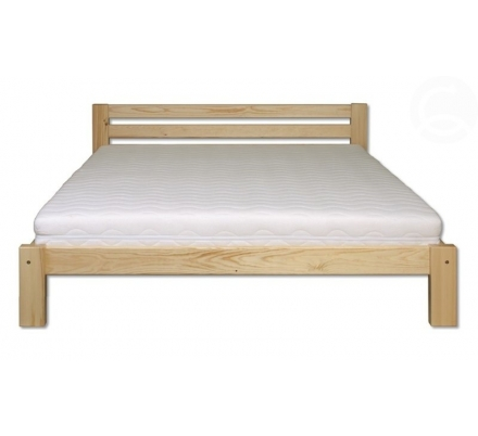 Masivní postel borovice