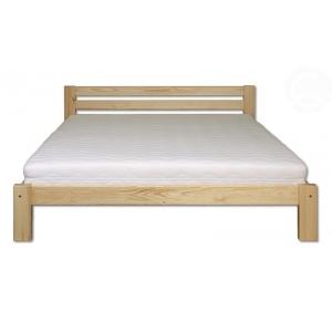 Postel z borovice KL-105, Velikost postele 160x200