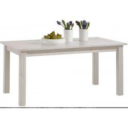 Jídelní stůl s rozkládáním Moris - bílá