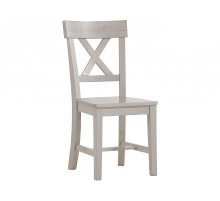 Jídelní židle Moris - bílá