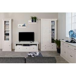Televizní stolek Moris - bílá