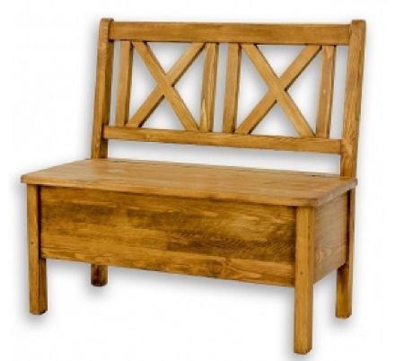 Jídelní lavice z masivu 013 - selský nábytek