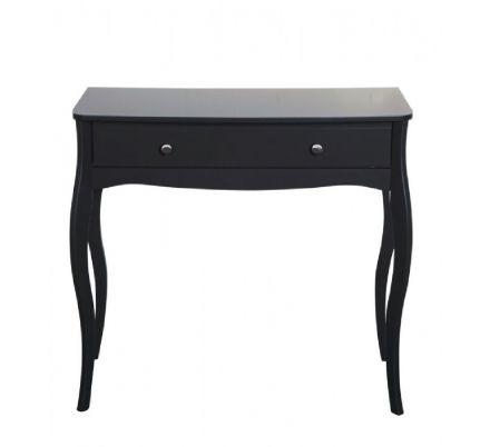 Toaletní stolek Baroko - černo/hnědá