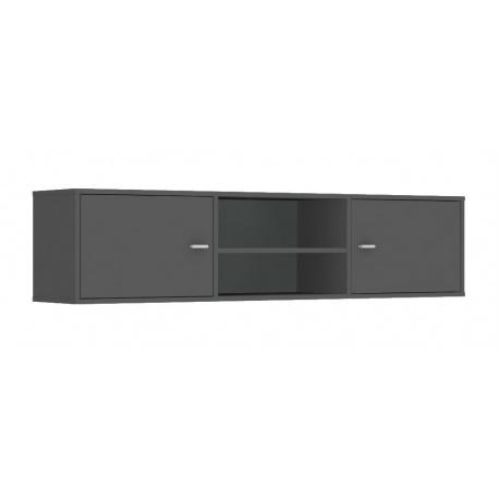 Horní skříňka s dvířky REA Denisa Up 002 - graphit