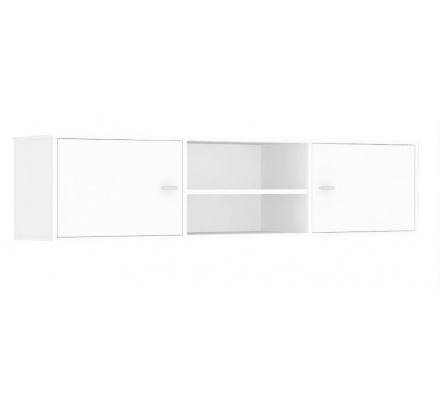Horní skříňka s dvířky REA Denisa Up 002 - biela