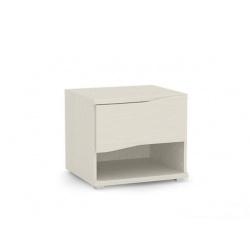 Noční stolek REA Wave 1 jednozásuvkový - navarra