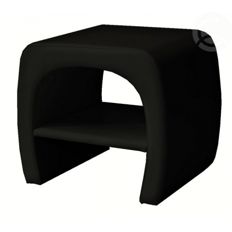 Černý noční stolek TOKIO