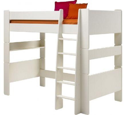Vyvýšená postel Dash II 90x200 cm - bílá