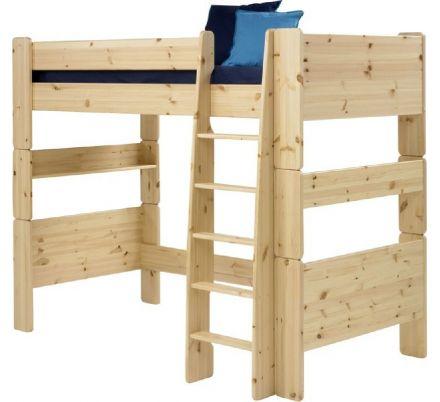 Vyvýšená postel Dash II 90x200 cm - masiv