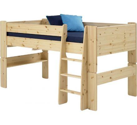 Vyvýšená postel Dash 90x200 cm - masiv