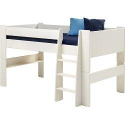 Vyvýšená postel Dash 90x200 cm - bílá