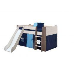Textilie k vyvýšené posteli Dany - tmavě modrá