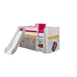Textilie k vyvýšené posteli Dany - rytířský vzor