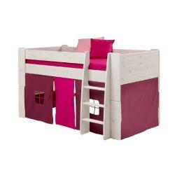 Textilie k vyvýšené posteli Dany - lila/růžová