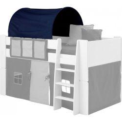Textilie (tunel) k posteli Dany - tmavě modrá