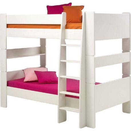Patrová postel Dash 90x200 cm -bílá