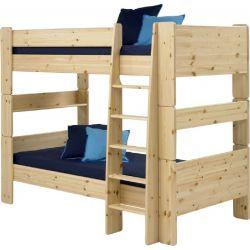 Patrová postel Dash 90x200 cm - masiv