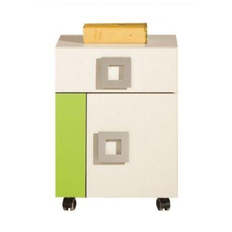 Kontejner na kolečkách Baron 20 - výběr barev krémová/oranžová
