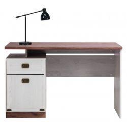 Psací stůl Miki - dub/modřín sibiřský