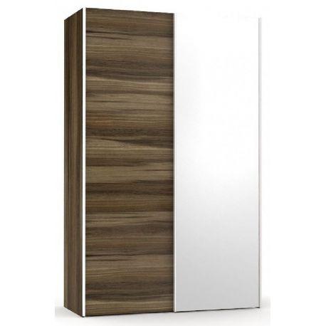 Šatní skřín se zrcadlem REA Houston 4 - ořech rock