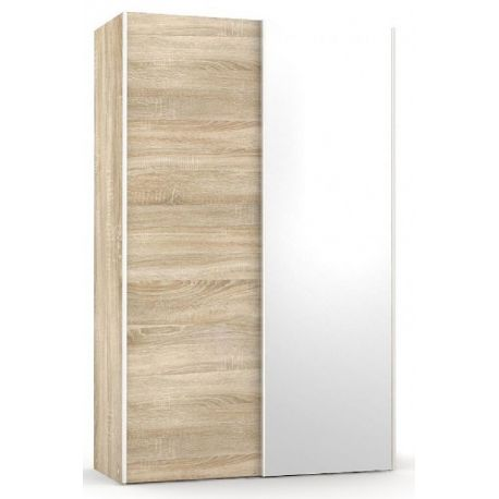 Šatní skřín se zrcadlem REA Houston 4 - dub bardolino