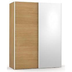 Šatní skřín se zrcadlem REA Houston 1 - buk