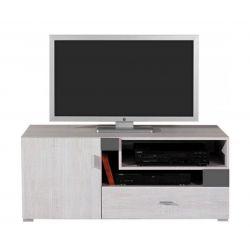Televizní stolek Delbert 12 - fialová nebo šedá