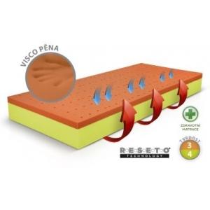 Luxusni zdravotní matrace Řešeto - Visco, Rozměr matrace 80x190 cm