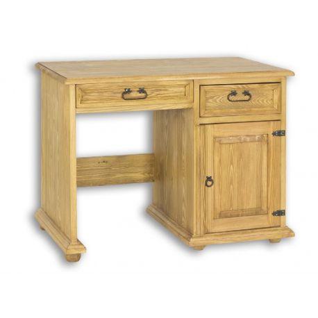 Rustikální psací stůl z masivu BIK 01 - výběr moření