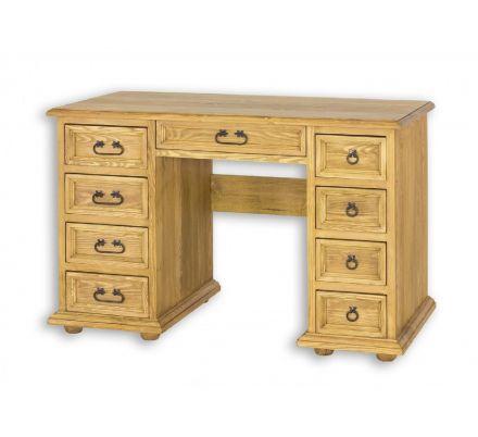 Rustikální psací stůl z masivu BIK 04 - výběr moření