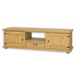 Televizní stolek z masivu 03 - výběr odstínů