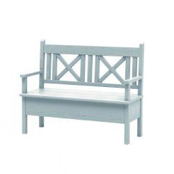 Jídelní lavice s úložným prostorem a područkami Sil 013 - 120cm - výběr moření