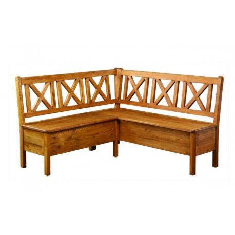 Jídelní rohová lavice SIL19 - selský nábytek