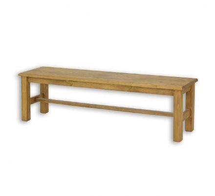 Jídelní lavice z masivu 020 - selský nábytek