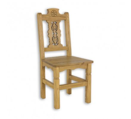 Jídelní židle z masivu 24 - výběr moření