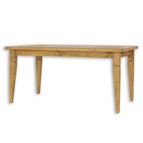 Jídelní stůl z masivu MES 03 A 80x120 s hladkou deskou - výběr moření