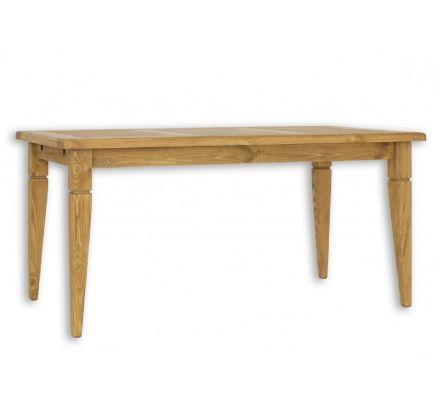 Jídelní stůl z masivu MES 03 A 80x140 s hladkou deskou - výběr moření
