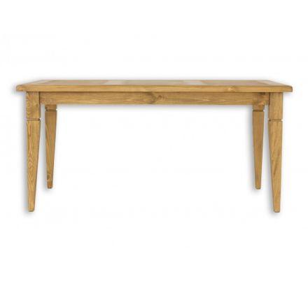Jídelní stůl z masivu MES 03 A 90x160 s hladkou deskou - výběr moření