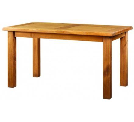 Jídelní stůl z masivu MES 13 A 90x160 s hladkou deskou - výběr moření