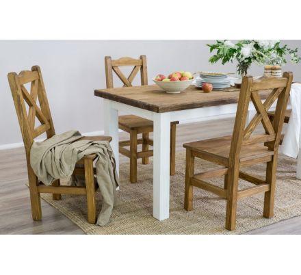 Jídelní stůl z masivu MES 13 B 90x160 - výběr moření
