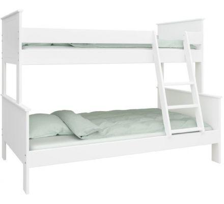 Patrová postel Sendy - bílá