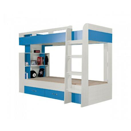 Patrová postel Adéla - modrá