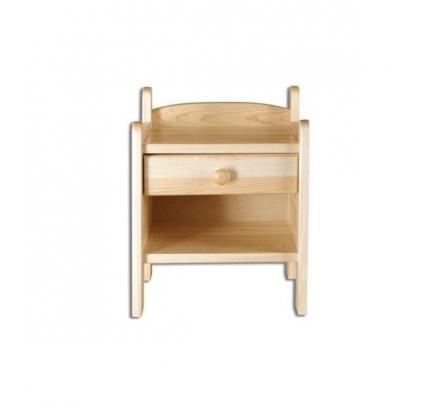 levný stolek z masivu