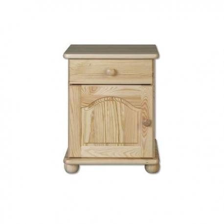 levný stolek s šuplíky z masivu borovice