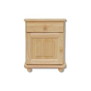 Noční stolek masiv borovice (dub, olše, ořech), Moření Moření dub