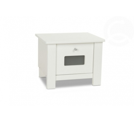Noční stolek bílé barvy - dětský