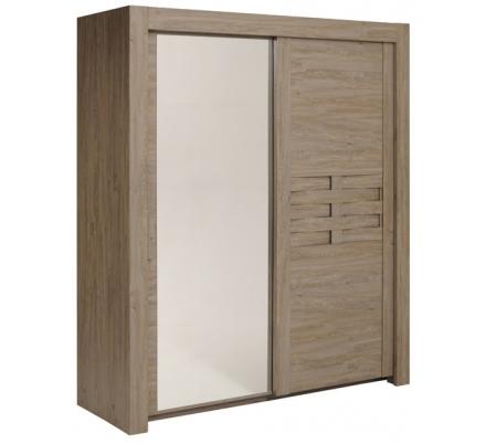 Šatní skříň s posuvnými dveřmi Sao 2D