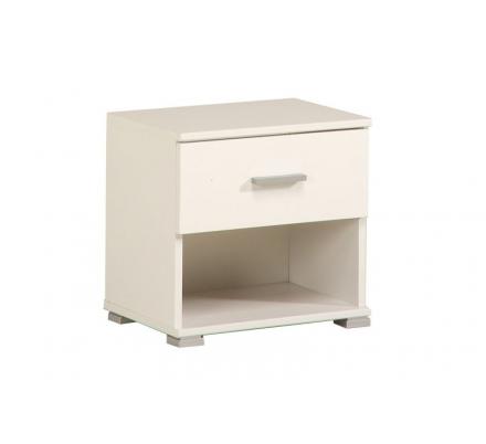 Noční stolek Initial - bílý