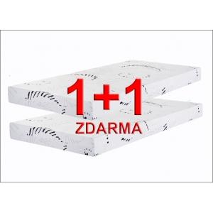Matrace 1+1 zdarma ALENA - PUR pěna, Rozměr matrace 90x200 cm