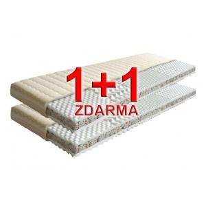 Matrace 1+1 zdarma - Triflex plus 2 - sendvičová PUR, Rozměr matrace 80x200 cm